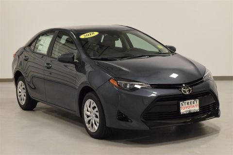 New 2018 Toyota Corolla LE FWD 4dr Car