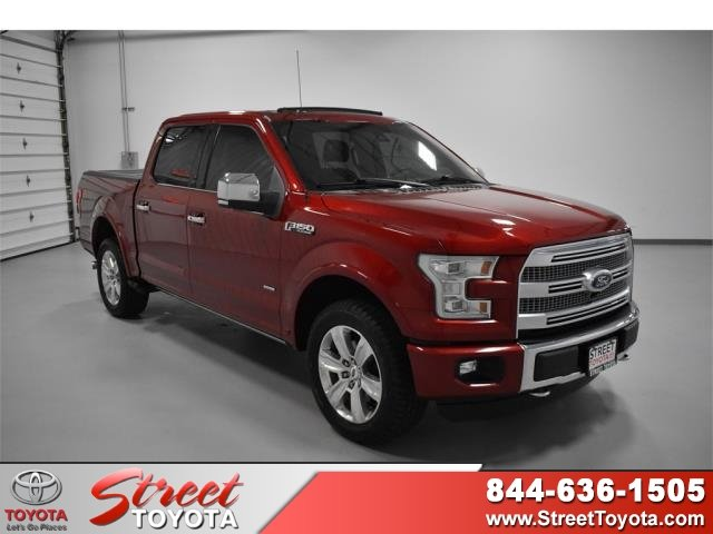 2015 Ford F 150 For Sale >> Pre Owned 2015 Ford F 150 4wd Crew Cab Pickup For Sale In Amarillo Tx