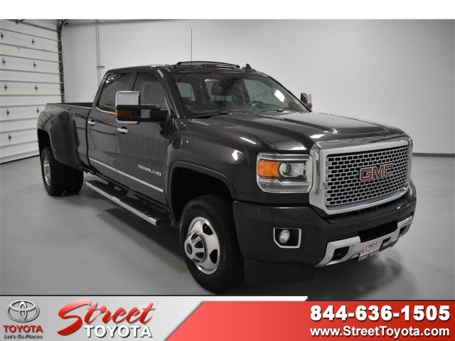 Pre-Owned 2015 GMC Sierra 3500HD available WiFi Denali