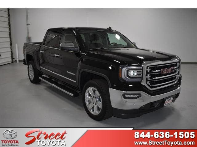 Gmc 1500 For Sale >> Pre Owned 2016 Gmc Sierra 1500 Slt 4wd Crew Cab Pickup For Sale In Amarillo Tx