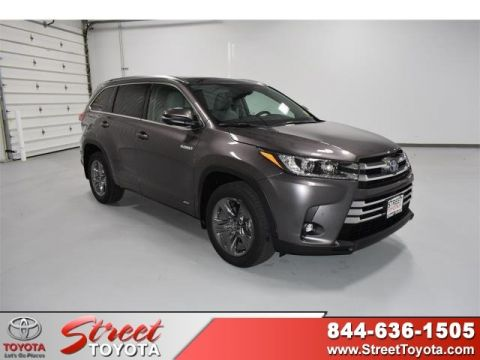 New 2019 Toyota HIGHLANDER HYBRD Hybrid Limited Platinum