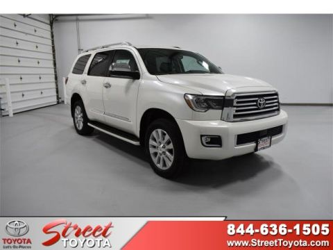 New 2019 Toyota SEQUOIA 4X4 Platinum