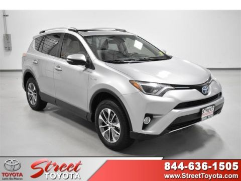 Certified Pre-Owned 2017 Toyota RAV4 Hybrid XLE